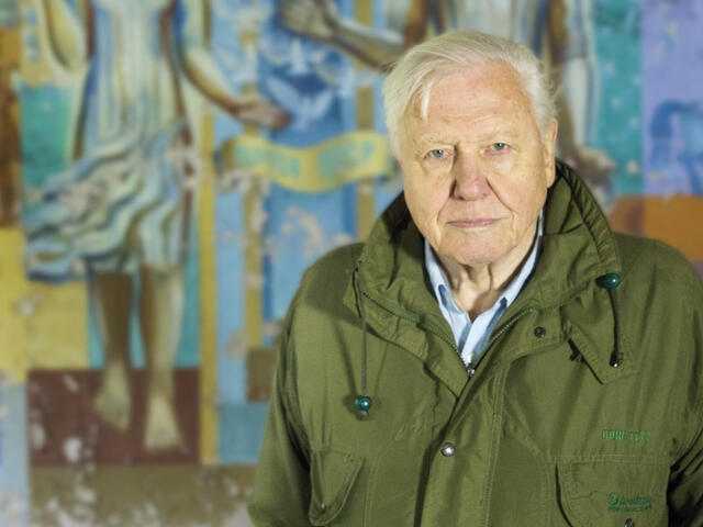 Sir David Attenborough at Chernobyl