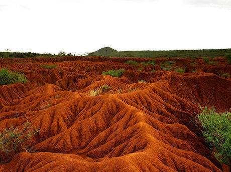 Soil erosion in Kenya