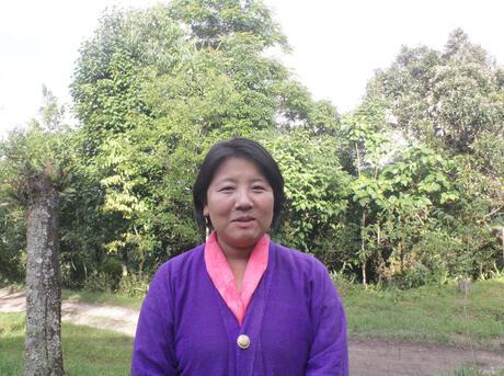 Thinley Choden portrait