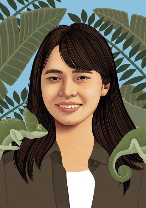 Trang Nguyen illustration