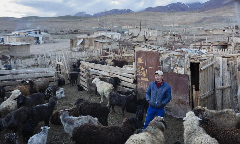 Vilager in Ak-Shyrak, Kyrgyzstan