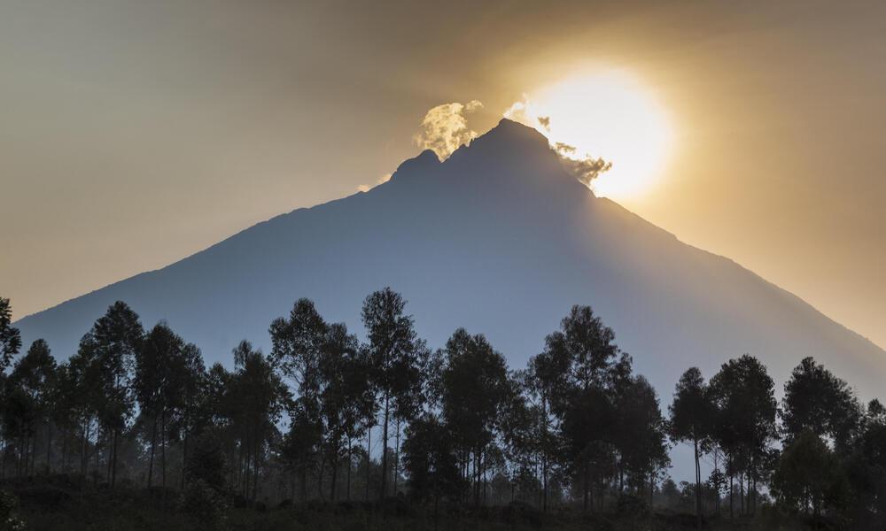 Mount  Mikeno, Virunga National Park