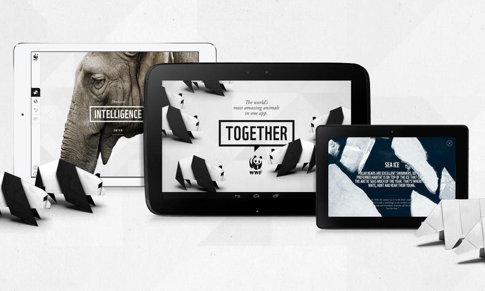 WWF Together Homepage Promo