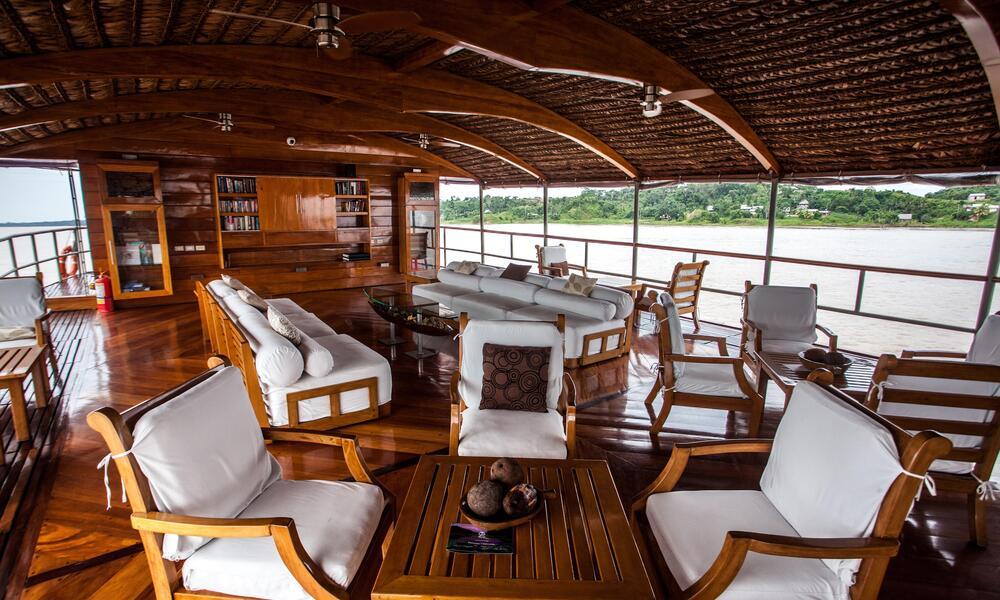 WWF Amazon River Cruise Delfin Interior
