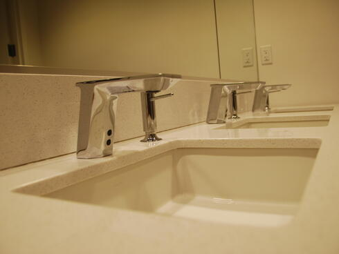 Water-saving faucets