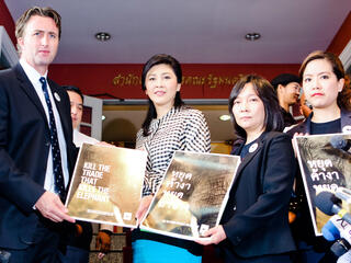 WWF meets with Thai Prime Minister Yingluck Shinawatra
