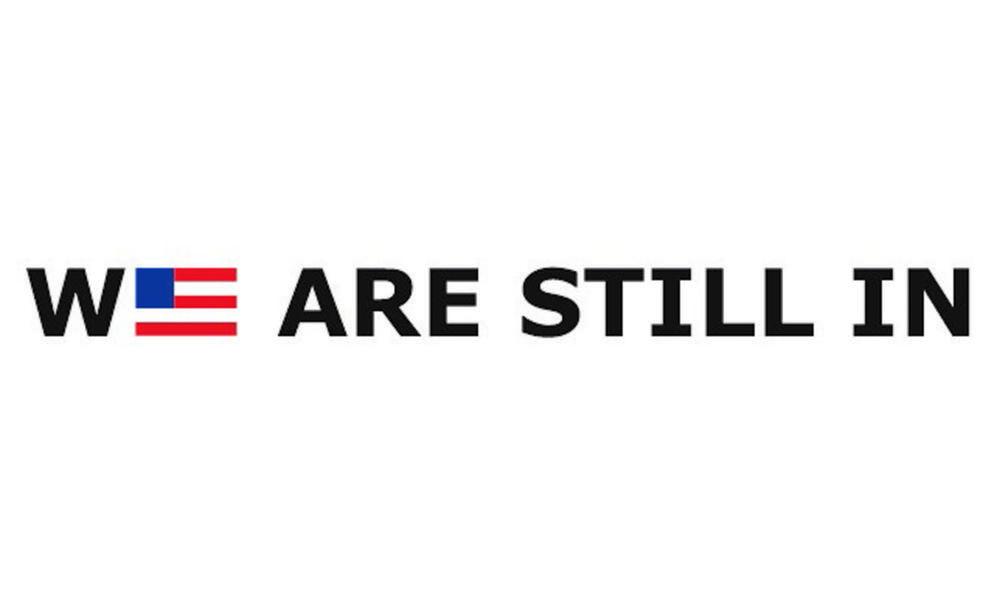 We Are Still In Logo