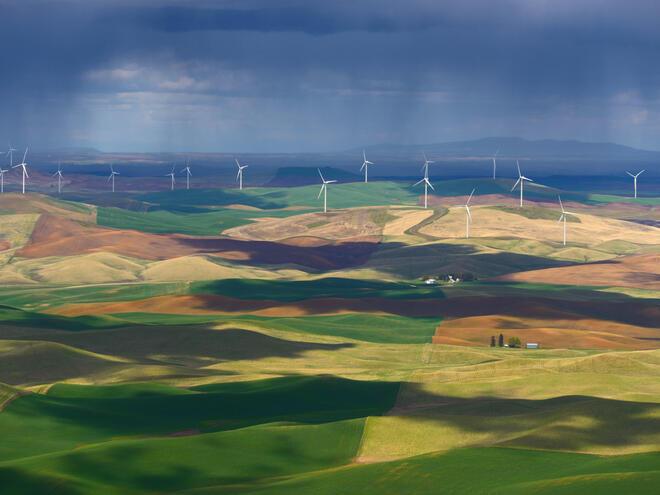 wind farm in United States