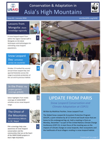 Asia High Mountains Newsletter: Issue 1 Brochure