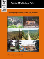 Palming Off a National Park: Tracking Illegal Oil Palm Fruit in Riau, Sumatra Brochure