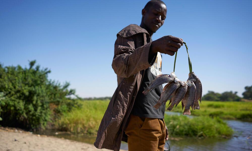 Chad fisherman