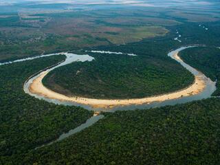 Amazon river bend