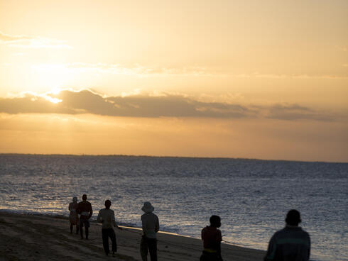 fishermen, Mozambique