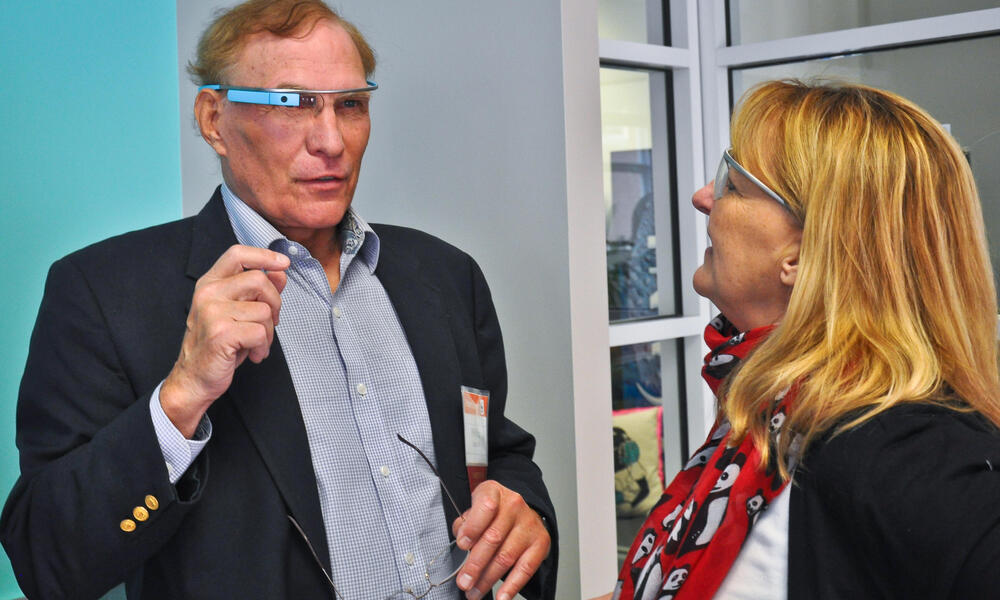 Partners also had the opportunity to attend a Wildlife Technology Expo where they got an up-close look at some of the cutting-edge technologies, like Google glass, that are helping to innovate conservation.