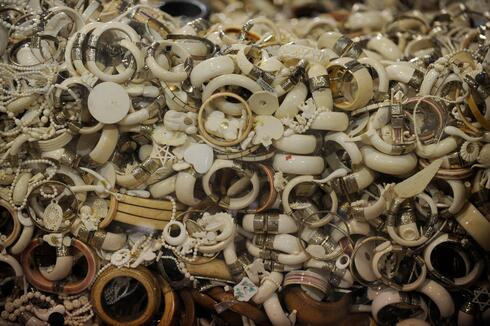 tons of seized ivory, animal parts illegally poached for fashion, decor and money are held once they've been seized by authorities.