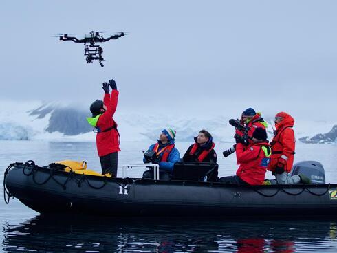 whale drone team Chris Johnson