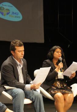 WWF's Dekila Chungyalpa at World Youth Day panel