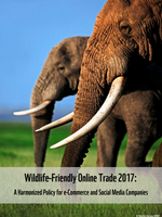 Wildlife-Friendly Online Trade: A Harmonized Policy for e-Commerce and Social Media Companies  Brochure